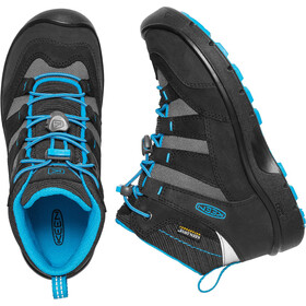Keen Hikeport Mid WP Shoes Kids black/blue jewel